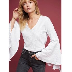 Anthro l PSB 'Andie' Bell Sleeve Top